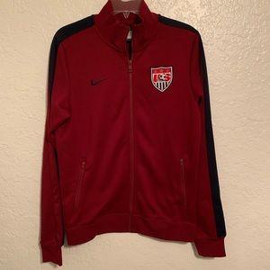 Nike   US Soccer woman's zip up